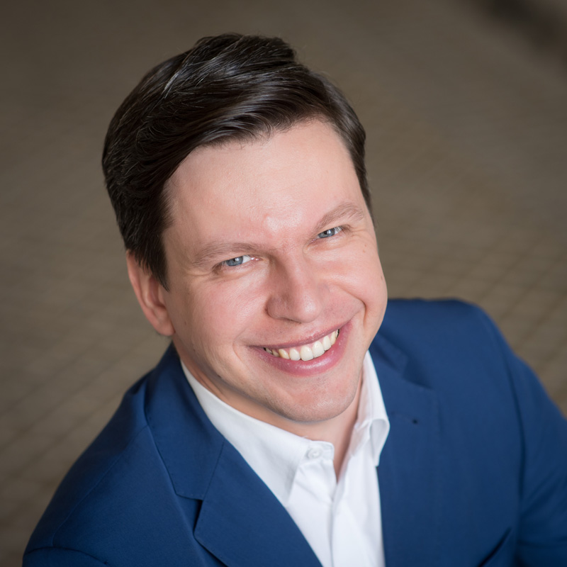 Zdjęcie dyrektora Michała Senka